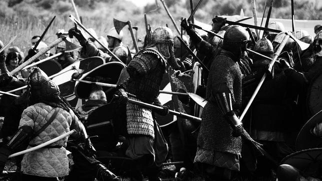 Vikingos en combate