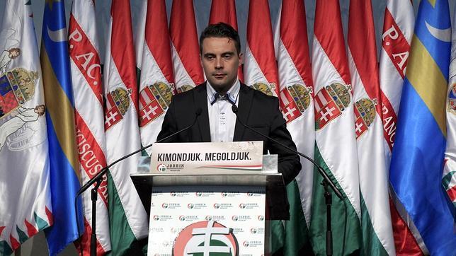 Gábor Vona es el líder del partido extremista húngaro Jobbik
