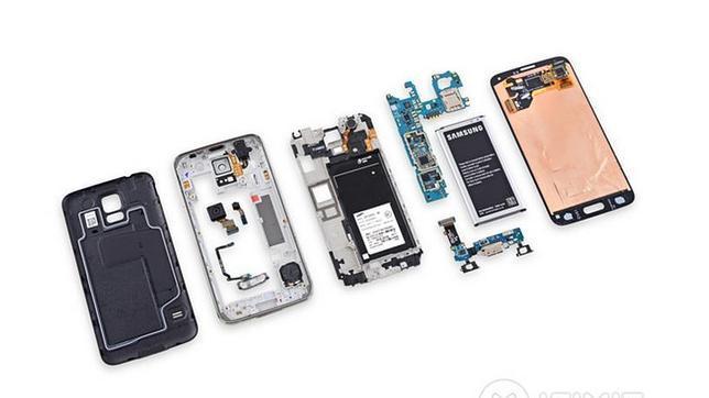 El Samsung Galaxy 5S es más complicado de reparar que su antecesor por su seguridad