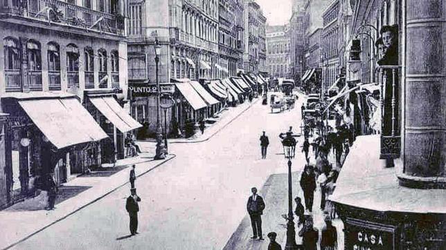 El día que Madrid pavimentó una calle con corcho