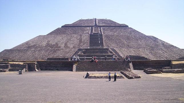 La Pirámide del Sol, una de las joyas arqueológicas de México, en peligro de hundimiento