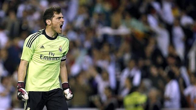 Casillas, 1.029 minutos imbatido en la Copa del Rey