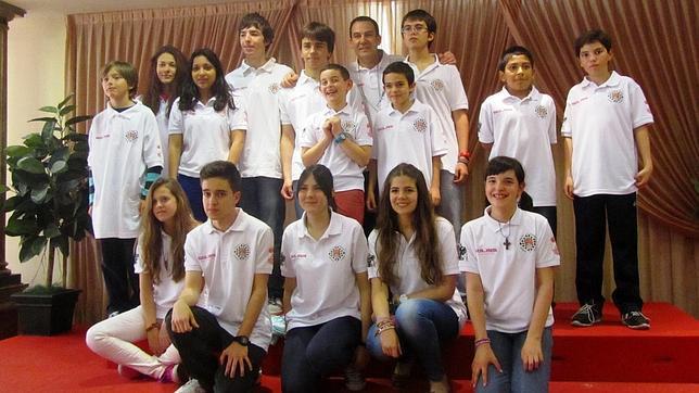 Foto de grupo del Cruz Ajedrez Bargas-Soliss