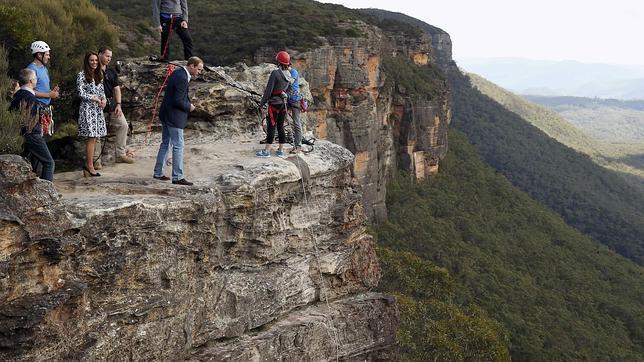 Uno de los miradores de las Blue Mountains, en Australia