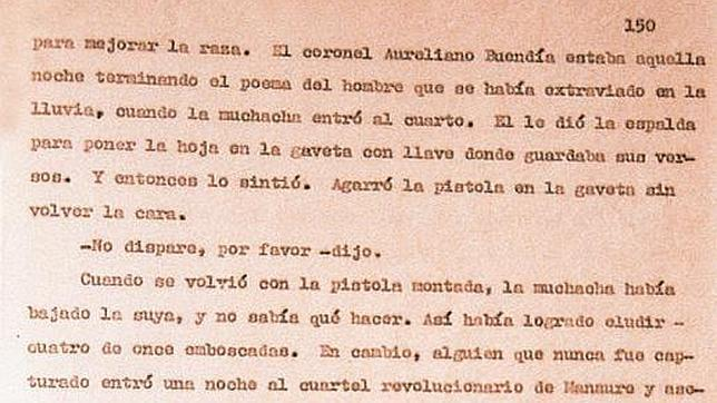 Los geniales arranques de los libros de García Márquez