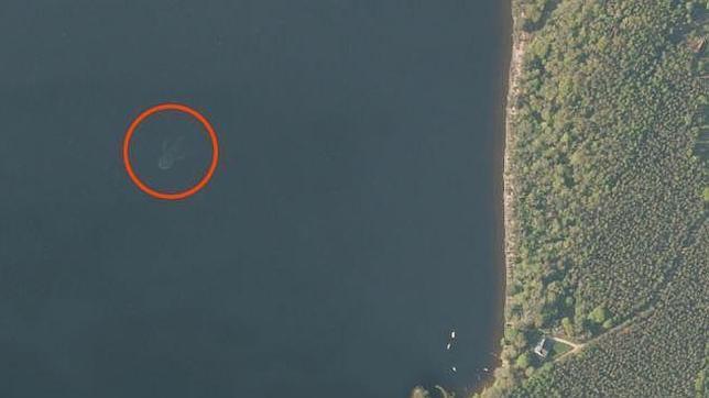 Las imágenes han sido captadas por el satélite de Apple Maps