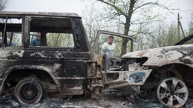 La tregua en Ucrania se tambalea tras el tiroteo con víctimas mortales en Slaviansk