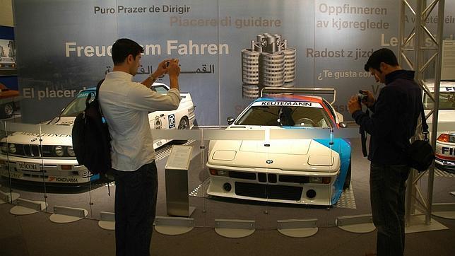 Un detalle del museo BMW