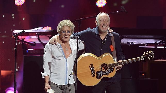 Imagen de 2012 de Roger Daltrey y Pete Townshend