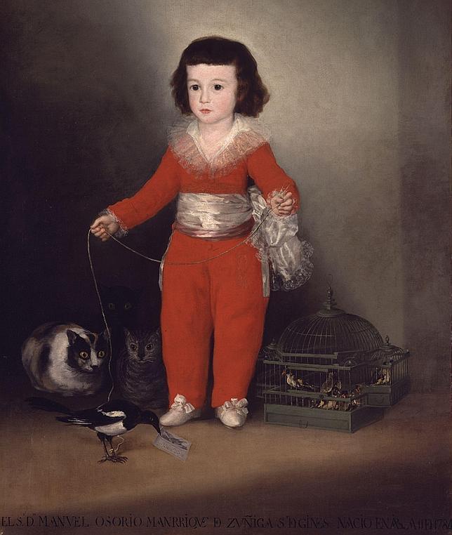 «Retrato de Manuel Osorio Manrique de Zúñiga», de Goya