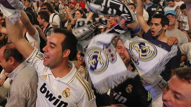 La afición madridista, citada a las 19.00 en Concha Espina para animar al equipo