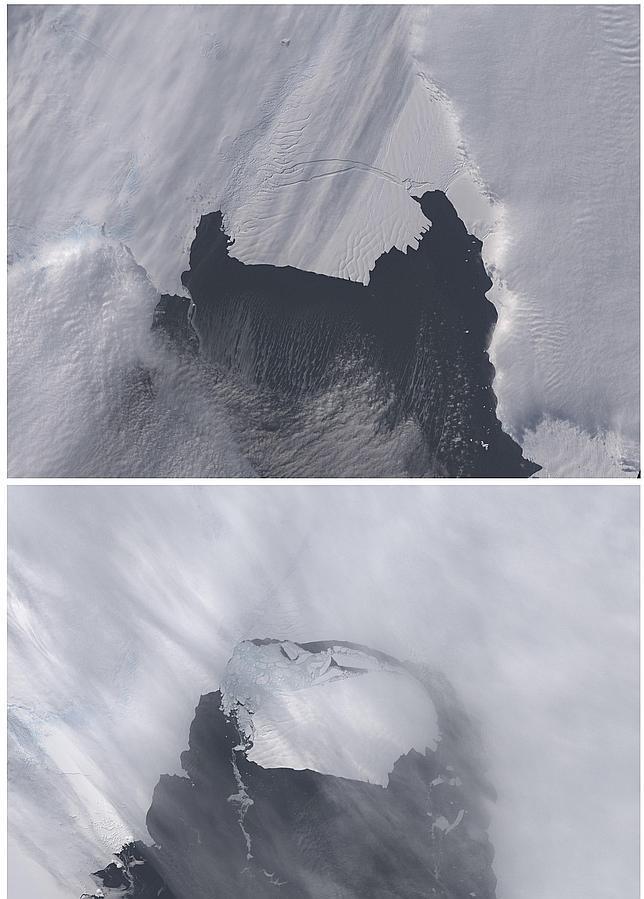 Alarma tras desprenderse en la Antártida un iceberg seis veces mayor que Manhattan