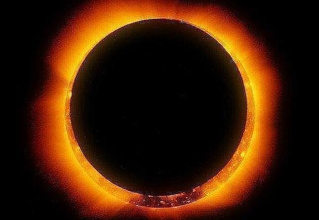 Un eclipse transformará el Sol en un anillo de fuego el martes