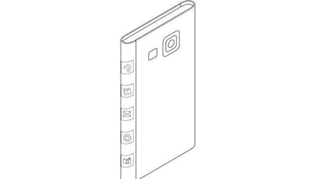 Samsung solicita la patente para una pantalla de «tres caras» para el Note 4