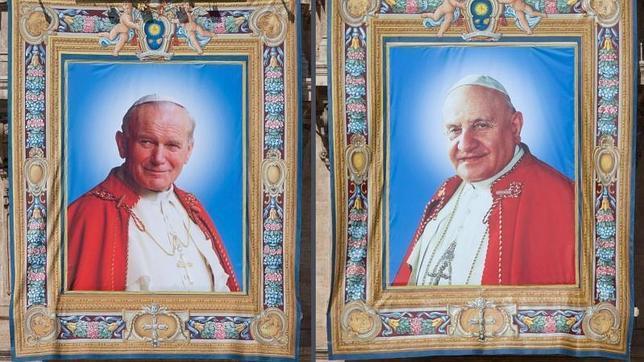 ¿Cómo han llegado Juan XXIII y Juan Pablo II a ser santos?