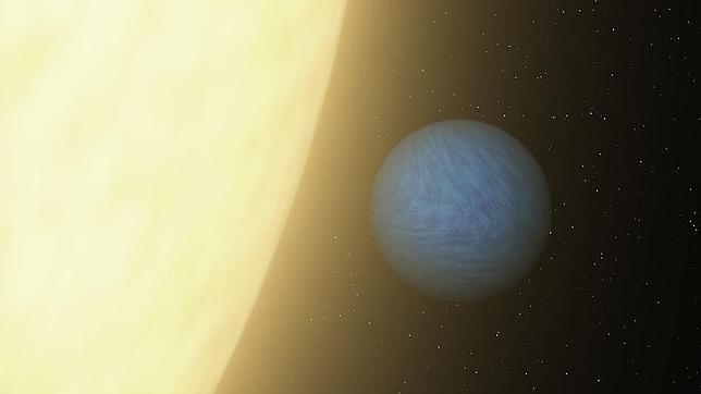 Un diamante del tamaño de dos Tierras flota en el espacio