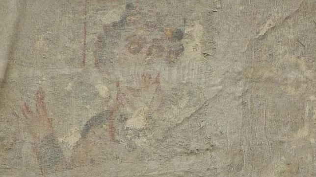 Hallan en Oxirrinco pinturas coptas con una posible imagen de Jesucristo