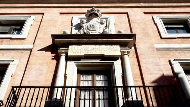 Fachada del palacio de la Inquisición de Madrid