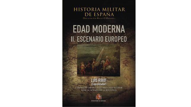Cubierta de «Historia militar de España»