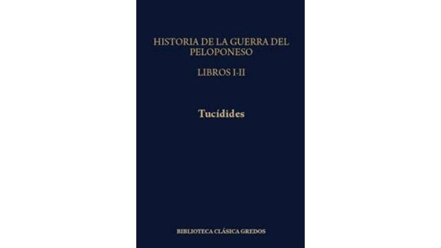 Cubierta del libro de Tucídides