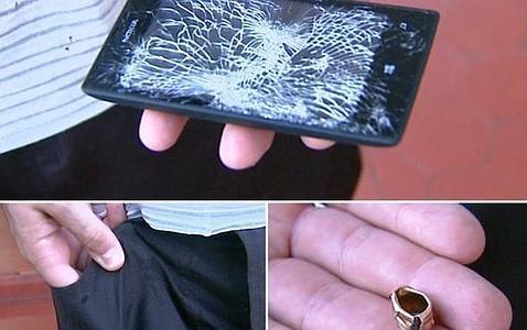 Un policía se salva de un disparo gracias al Nokia que llevaba en el bolsillo
