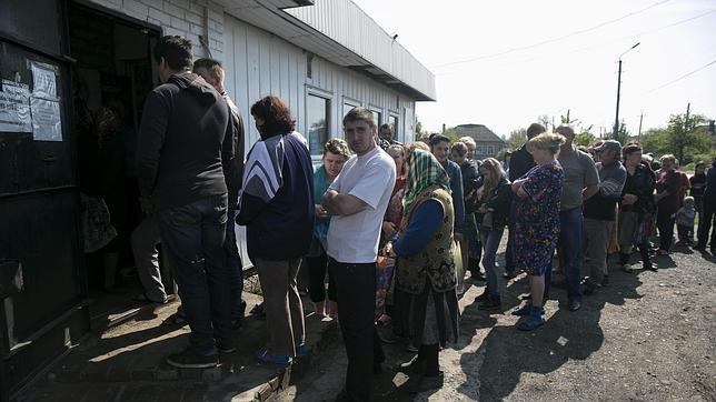 La ofensiva sobre Slaviansk deja cuatro militares ucranianos muertos y 30 heridos