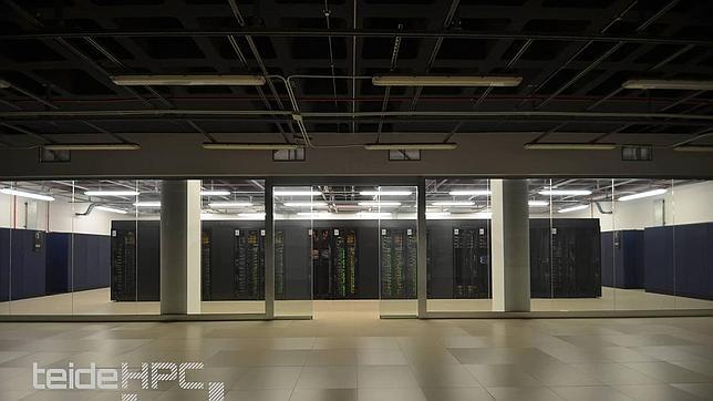 El superordenador Teide-HPC en el centro de datos D-ALiX de Granadilla, en Tenerife