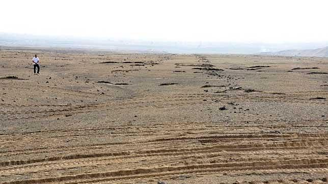Hallan grandes geoglifos en Perú que preceden a las líneas de Nazca
