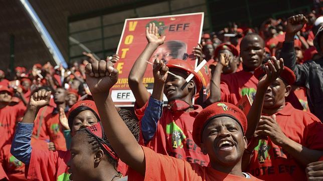 Las elecciones más abiertas de la historia de Sudáfrica