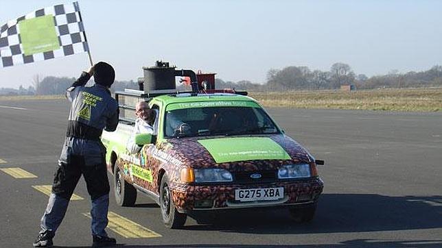 El asombroso coche que funciona con café