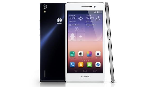 Huawei presenta Ascend P7, un móvil enfocado en el diseño, selfies y «groufies»