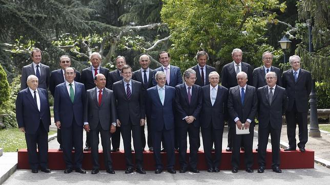 ¿Quién es quién en la imagen de los empresarios con Rajoy?