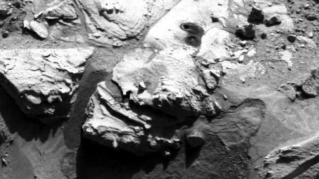 El Curiosity vuelve a perforar la superficie de Marte