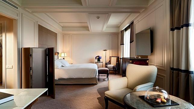 Los 15 hoteles m s lujosos de madrid for Hoteles gran lujo madrid