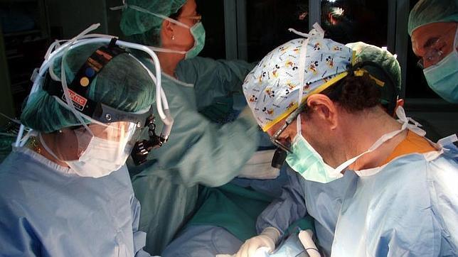 España realiza por primera vez una cadena de seis trasplantes renales de vivo
