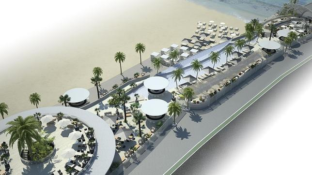 Proyecto del club de playa de la Marina Real