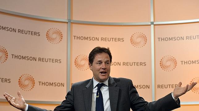 Nick Clegg afirma que Reino Unido sería irrelevante fuera de la Unión Europea