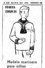 ¿Por qué se viste a los niños de marinero en su Primera Comunión?