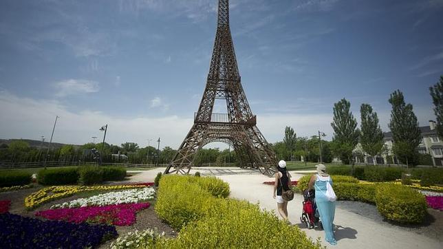 El parque europa se viste con flores para celebrar el d a de europa - Libreria torrejon de ardoz ...