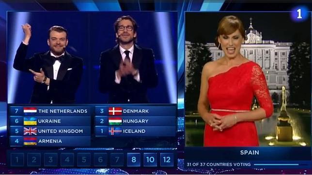 «Oit points»: el último ridículo de España y el inglés, esta vez en Eurovisión