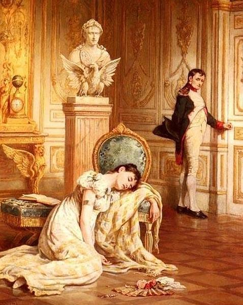 Resultado de imagen de napoleon con Josefina