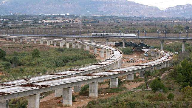 Resultado de imagen de obras corredor mediterraneo