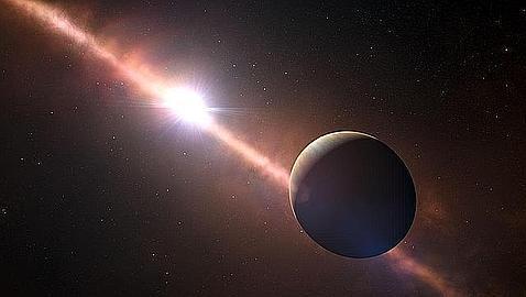 La mejor foto de un planeta fuera del Sistema Solar