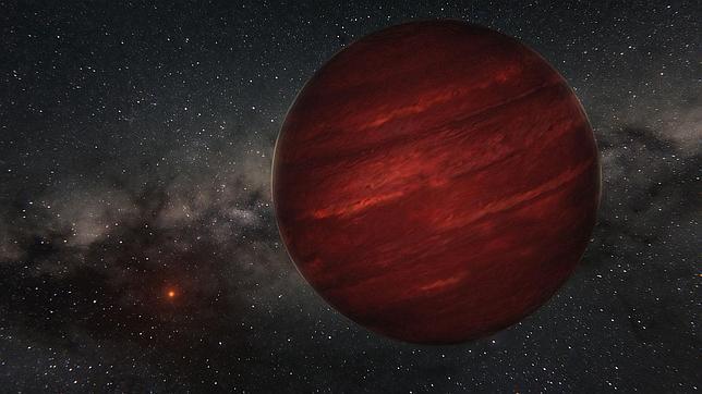 Descubren un planeta donde un año dura 80.000 de los terrestres