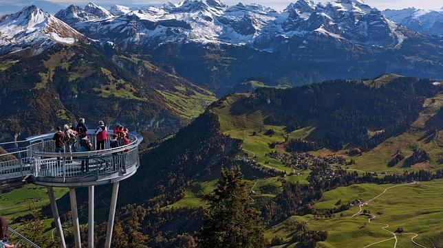 Los miradores m s impactantes en las monta as suizas - Casa galicia leon ...