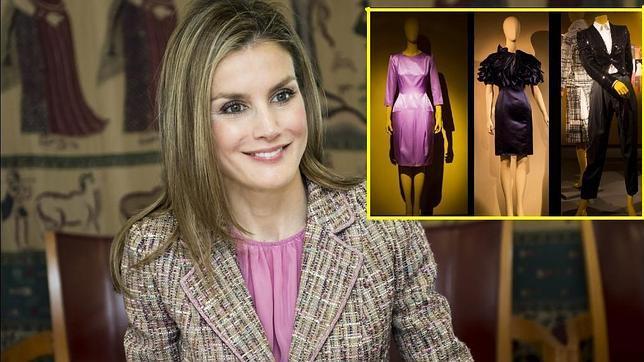 doña letizia dona al museo del traje ocho vestidos sin estrenar