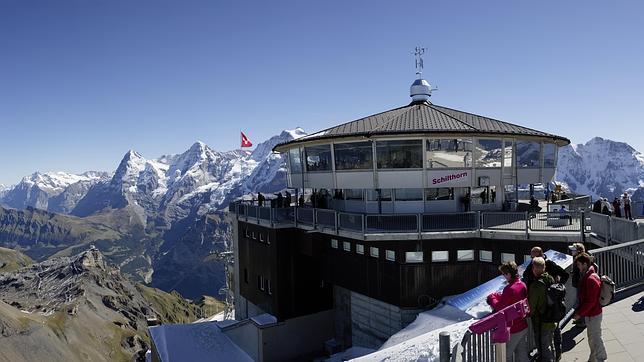 Los miradores más impactantes en las montañas suizas