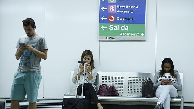 El «wifi» gratis baja al Metro de Madrid