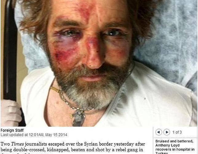 Dos periodistas de «The Times», retenidos en Siria durante varias horas
