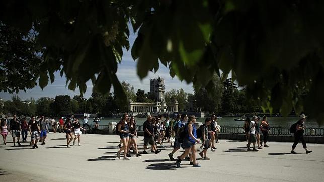 Los mejores lugares para correr en madrid Estanque grande